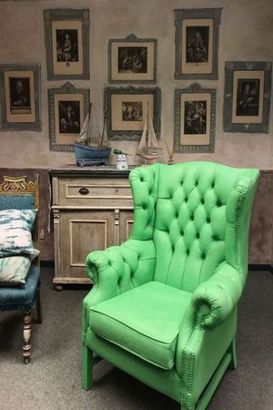 Annie Sloan Chalk Paint Antibes Green voorbeelden
