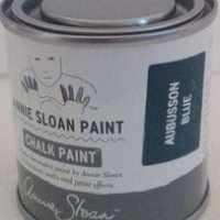 annie sloan chalk paint aubusson blue 120 ml