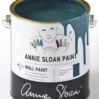 annie sloan aubusson blue wall paint 2500 ml