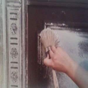 Dry Brushing met Annie Sloan Chalk Paint