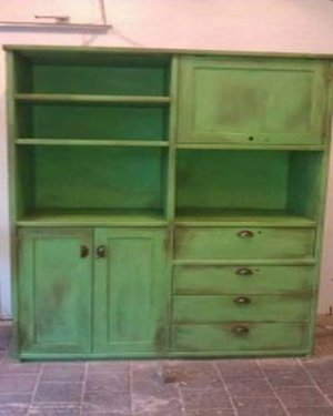 Annie Sloan Chalk Paint Antibes Green voorbeeld