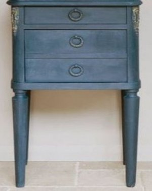 Annie Sloan Chalk Paint Aubusson Blue voorbeeld
